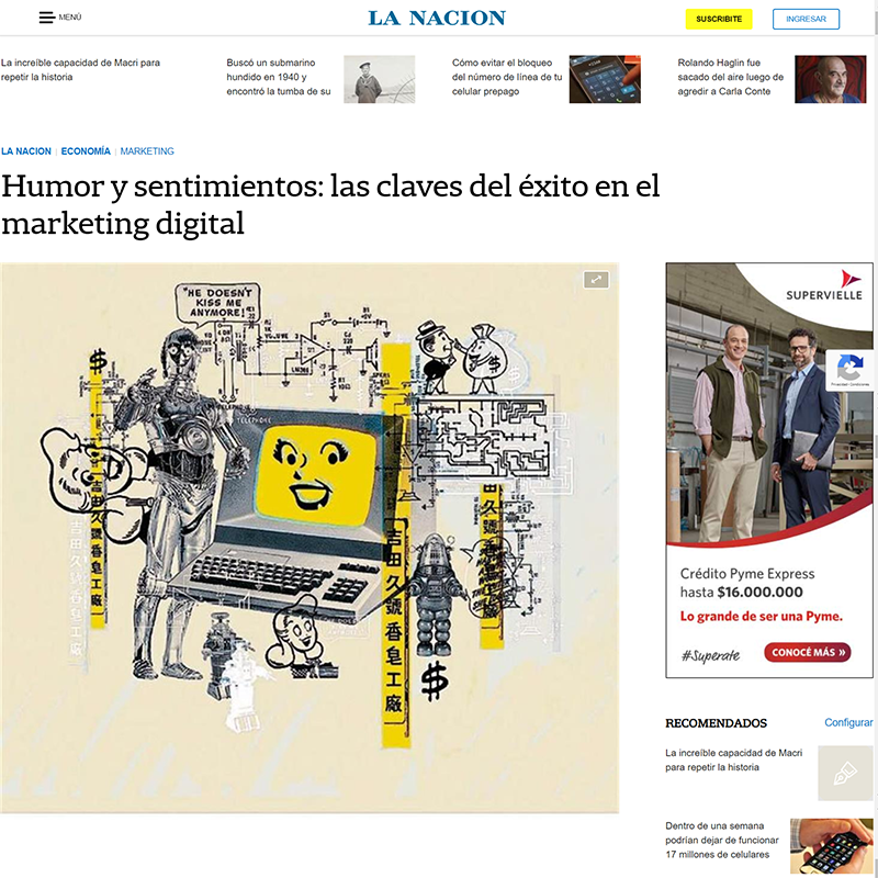 Humor y sentimientos: las claves del éxito en el marketing digital